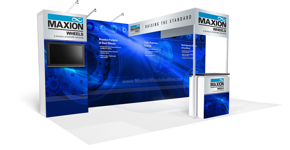 Maxion 10x20 Booth