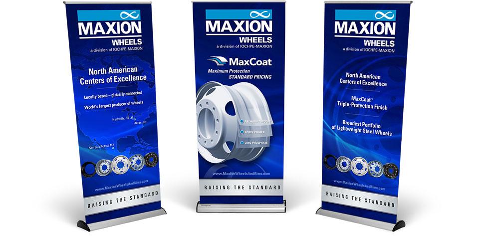 Maxion MATS Banners