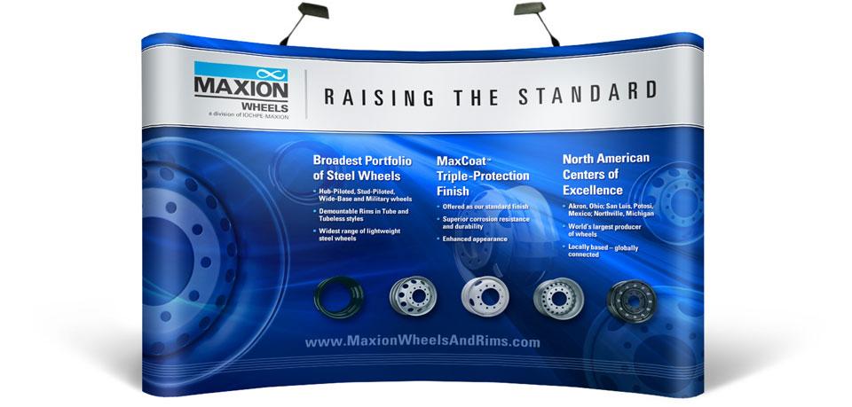 Maxion 10x10 Booth