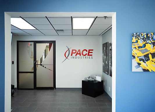 Pace lobby entryway