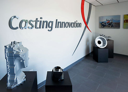 Pace Lobby with Casting Innovation sign