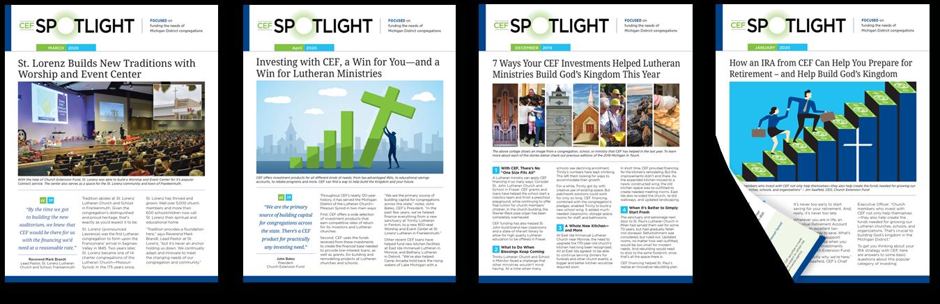 CEF Spotlight case studies