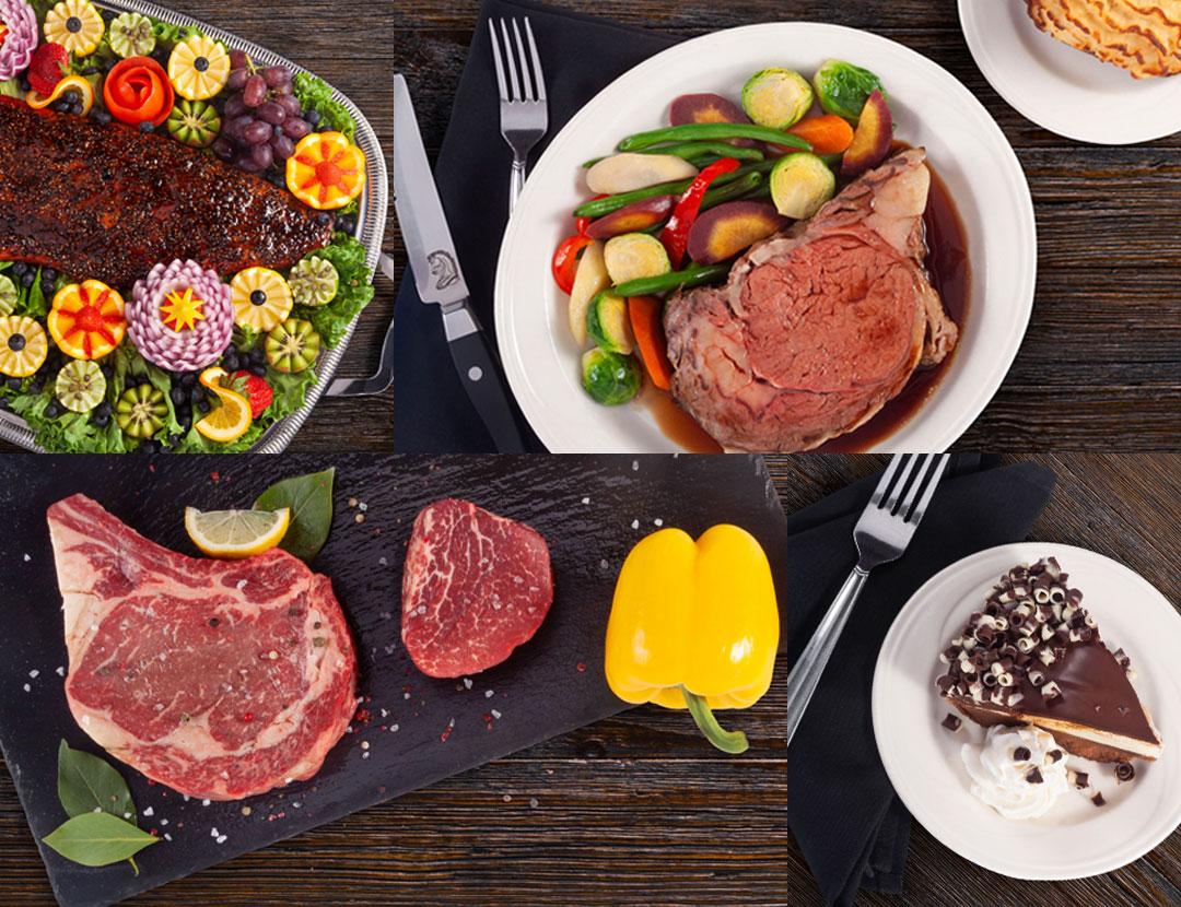 Knight's Restaurants Website Food Photography