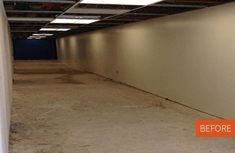Maxion Hallway Before