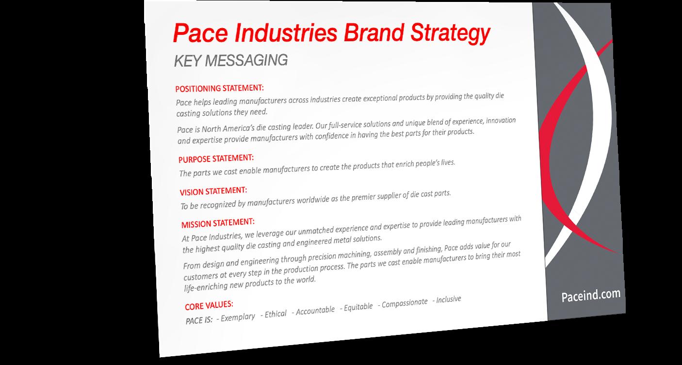 Pace Innovation Brand Strategy