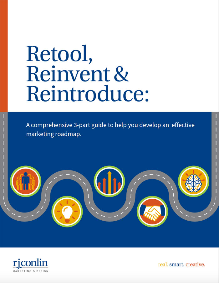Retool, Reinvent and Reintroduce marketing guide